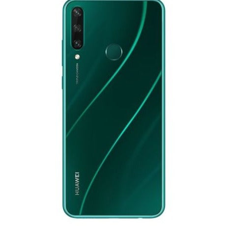 Huawei Y6P 2020 (64GB, 3GB RAM, Dual Sim, Green, Special Import)-Smartphones (New)-Connected Devices