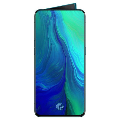 Oppo Reno 10x Zoom (256GB, 8GB RAM, Dual Sim, Ocean Green, Special import)-Smartphones (New)-Connected Devices