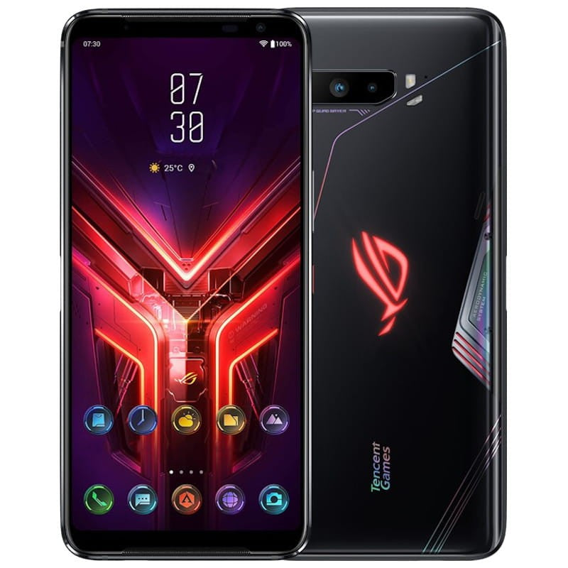 Asus ROG Phone 3 (512GB, 12GB RAM, Dual Sim, Black, Special Import)-Smartphones (New)-Connected Devices