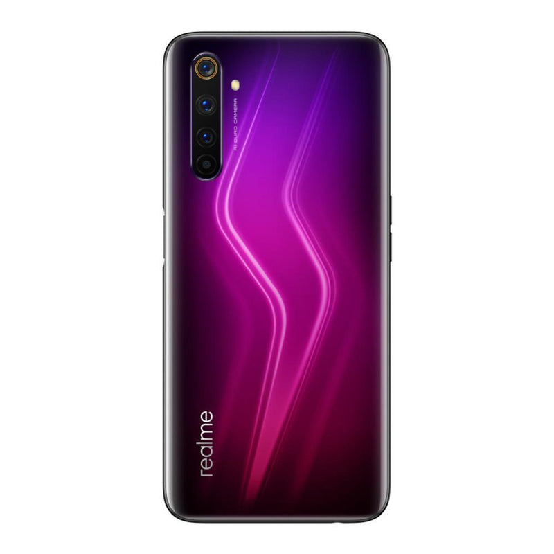 Realme 6 Pro (128GB, 8GB RAM, Dual Sim, Red, Special Import)-Smartphones (New)-Connected Devices