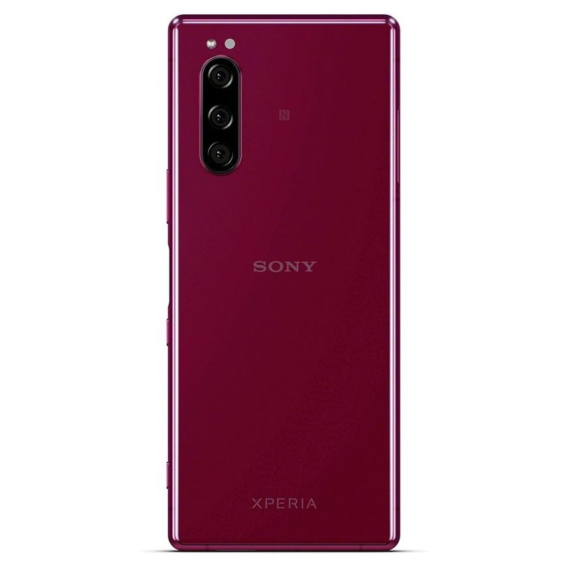 Sony Xperia 5 (128GB, Red, Dual Sim, Special Import)-Smartphones (New)-Connected Devices