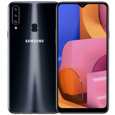 Samsung Galaxy A20s (32GB, Dual Sim, Black, Special Import)-Smartphones (New)-Connected Devices