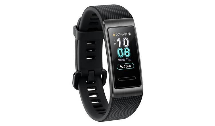 Huawei Band 3 Pro (Black, Bluetooth, Special Import)-Wearables (New)-Connected Devices