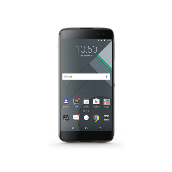 Blackberry DTEK60 (32GB, Black, Special Import)