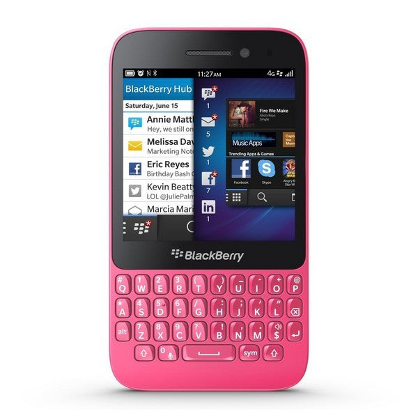 Blackberry Q5 QWERTY (8GB, Pink, Special Import)