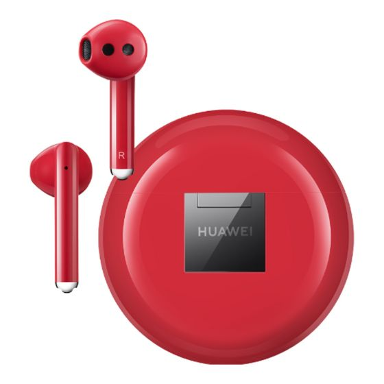 Huawei Freebuds 3 (Red, Special Import)-SmartPhone Accessories-Connected Devices