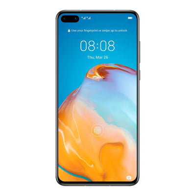 Huawei P40 5G (128GB, 8GB Ram, Dual Sim, Silver, Local Stock)-Smartphones (New)-Connected Devices