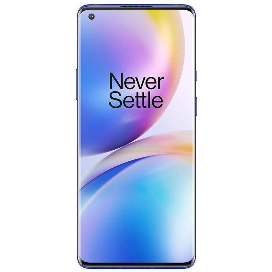 Oneplus 8 Pro 5G (256GB, 12GB RAM, Dual Sim, Blue, Special Import)-Smartphones (New)-Connected Devices