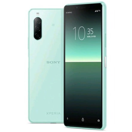 Sony Xperia 10 II (128GB, 4GB RAM, Dual Sim, Mint, Special Import)-Smartphones (New)-Connected Devices