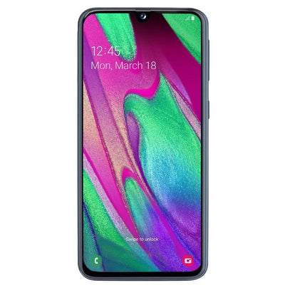 Samsung Galaxy A40 (64GB, 4GB RAM, Dual Sim, Blue, Special Import)-Smartphones (New)-Connected Devices