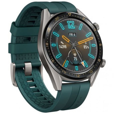 Huawei Watch GT Active (Bluetooth, 46mm, Dark Green, Special Import)-Wearables (New)-Connected Devices