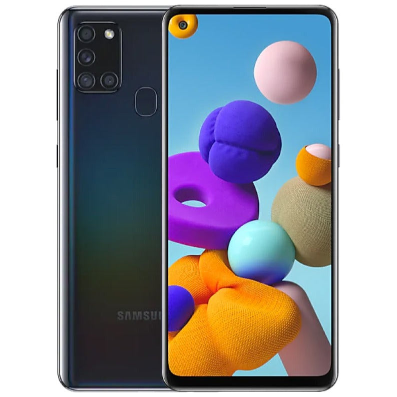 Samsung Galaxy A21s (64GB, Dual Sim, Black, Special Import)