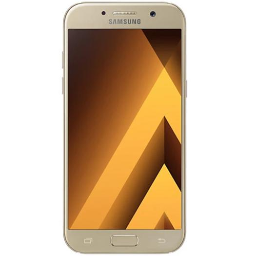 Samsung Galaxy A5 (2017, Single Sim, Gold Sand, Local Stock)-Smartphones (New)-Connected Devices
