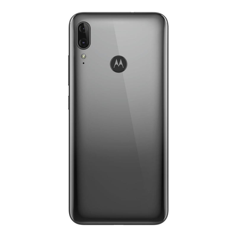 Motorola Moto E6 Plus (64GB, Dual Sim, Grey, Special Import)