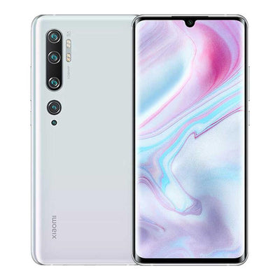 Xiaomi Mi Note 10 Pro (256GB, Dual Sim, White, Special Import)-Smartphones (New)-Connected Devices