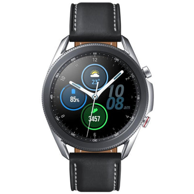 Samsung Galaxy Watch 3 (Bluetooth, 45mm, Stainless Steel, Silver, Special Import)-Wearables (New)-Connected Devices