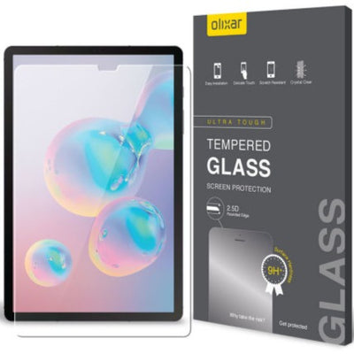 Olixar Samsung Galaxy Tab S6 Tempered Glass Screen Protector (Special Import)-Tablet Accessories-Connected Devices