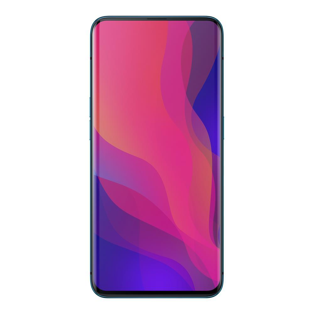 Oppo Find X (256GB, 8GB RAM, Dual Sim, Blue, Special Import)-Smartphones (New)-Connected Devices