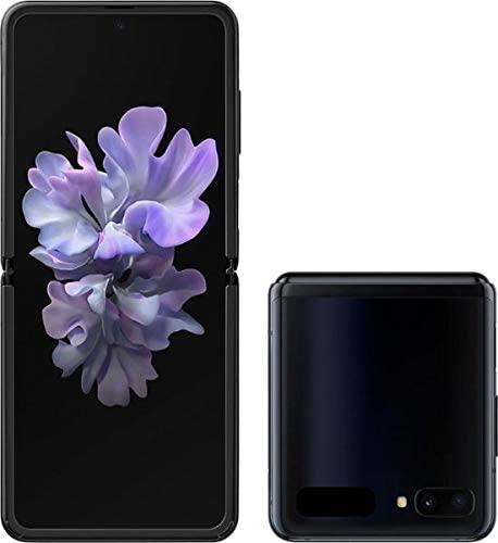 Samsung Galaxy Z Flip (256GB, LTE, Dual Sim,Black, Special Import)-Smartphones (New)-Connected Devices