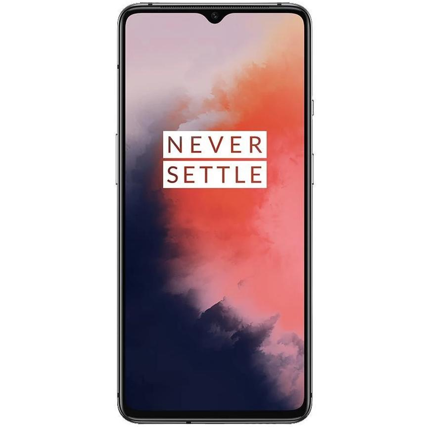 OnePlus 7T (128GB, Dual Sim, Frosted Silver, Special Import)
