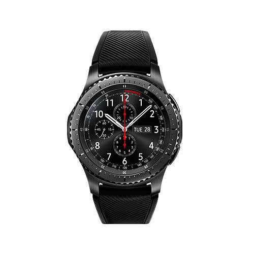 Samsung Gear S3 Frontier (Space Grey, Special Import)