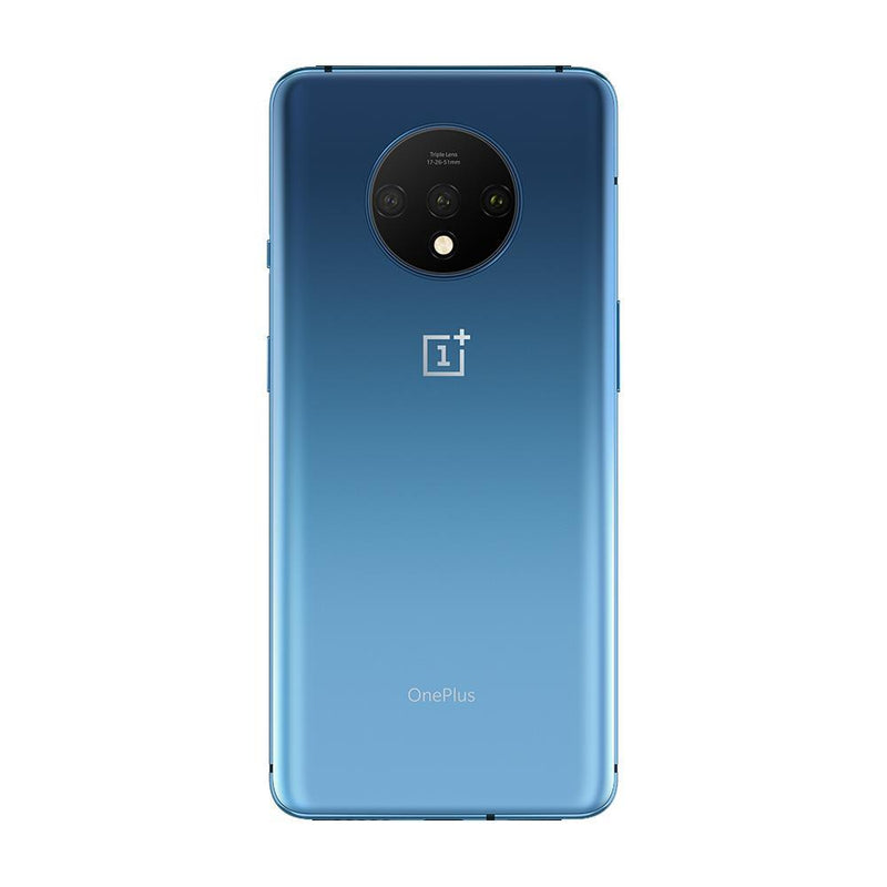 OnePlus 7T (128GB, Dual Sim, Glacier Blue, Special Import)-Smartphones (New)-Connected Devices