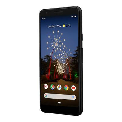 Google Pixel 3a (64GB, Just Black, Special Import)