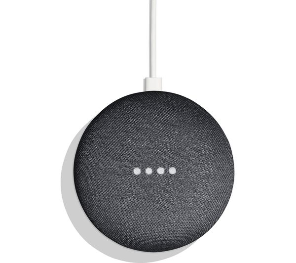 Google Home Mini (Charcoal, Special Import)-Connected Home - Speakers-Connected Devices