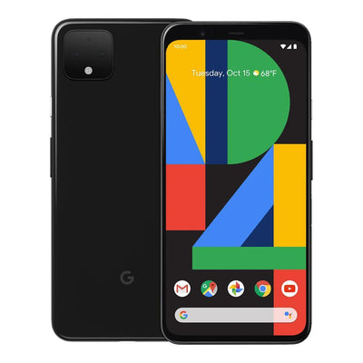 Google Pixel 4 (128GB, Just Black, Special Import)-Smartphones (New)-Connected Devices