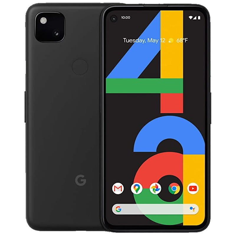 Google Pixel 4a (128GB, Black, Special Import)-Smartphones (New)-Connected Devices