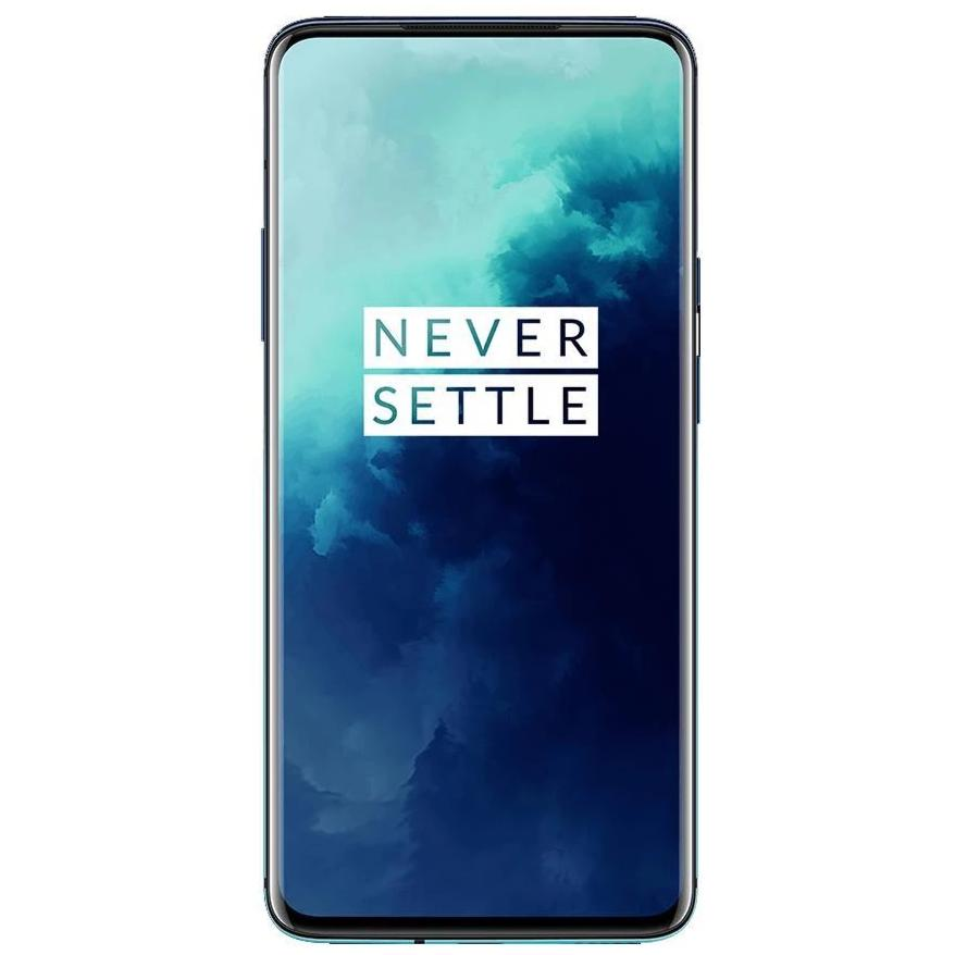 OnePlus 7T Pro (256GB, Dual Sim, Haze Blue, Special Import)-Smartphones (New)-Connected Devices