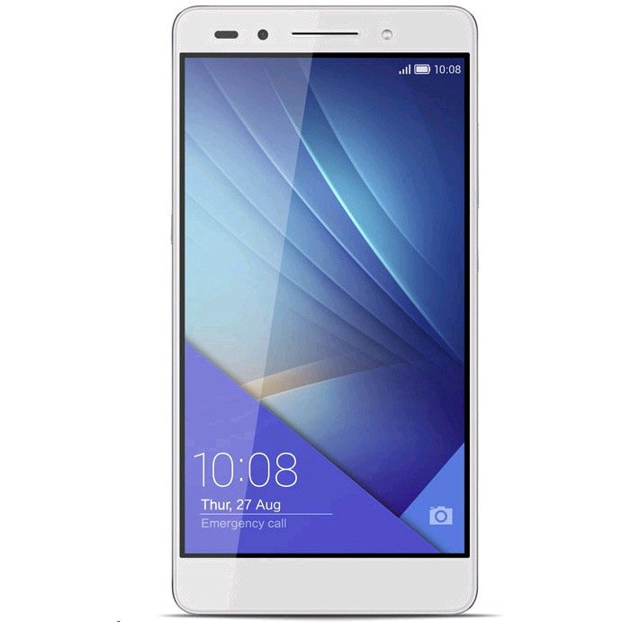 Huawei Honor 7 (16GB, Dual Sim, Silver, Special Import)-Smartphones (New)-Connected Devices