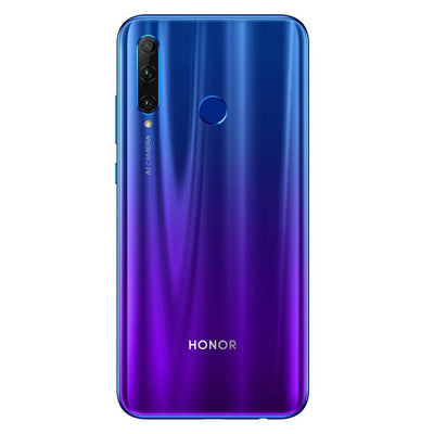 Huawei Honor 20 Lite (128GB, Dual Sim, Blue, Special Import)-Smartphones (New)-Connected Devices