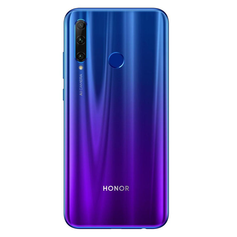 Huawei Honor 20 Lite (128GB, Dual Sim, Blue, Special Import)