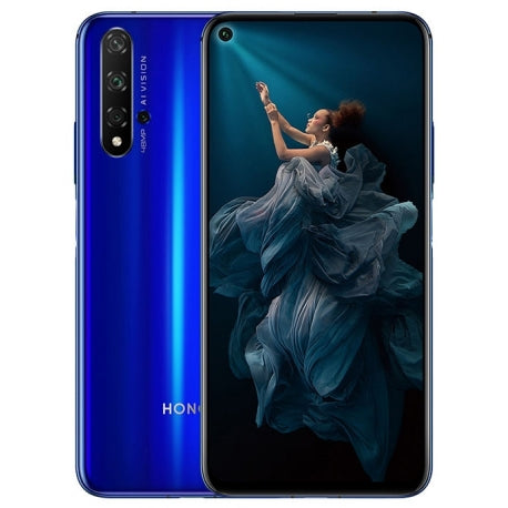 Huawei Honor 20 Pro (256GB, Dual Sim, Blue, Special Import)-Smartphones (New)-Connected Devices