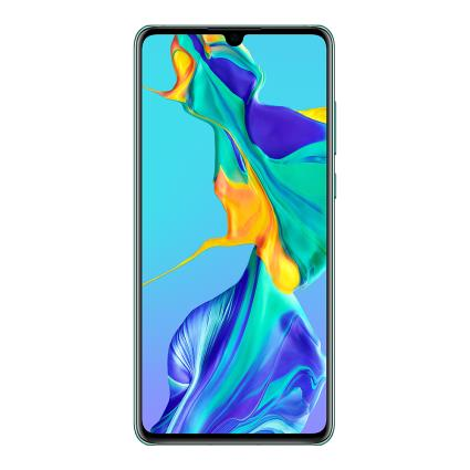 Huawei P30 (128GB, Dual Sim, Aurora Blue, Special Import)-Smartphones (New)-Connected Devices