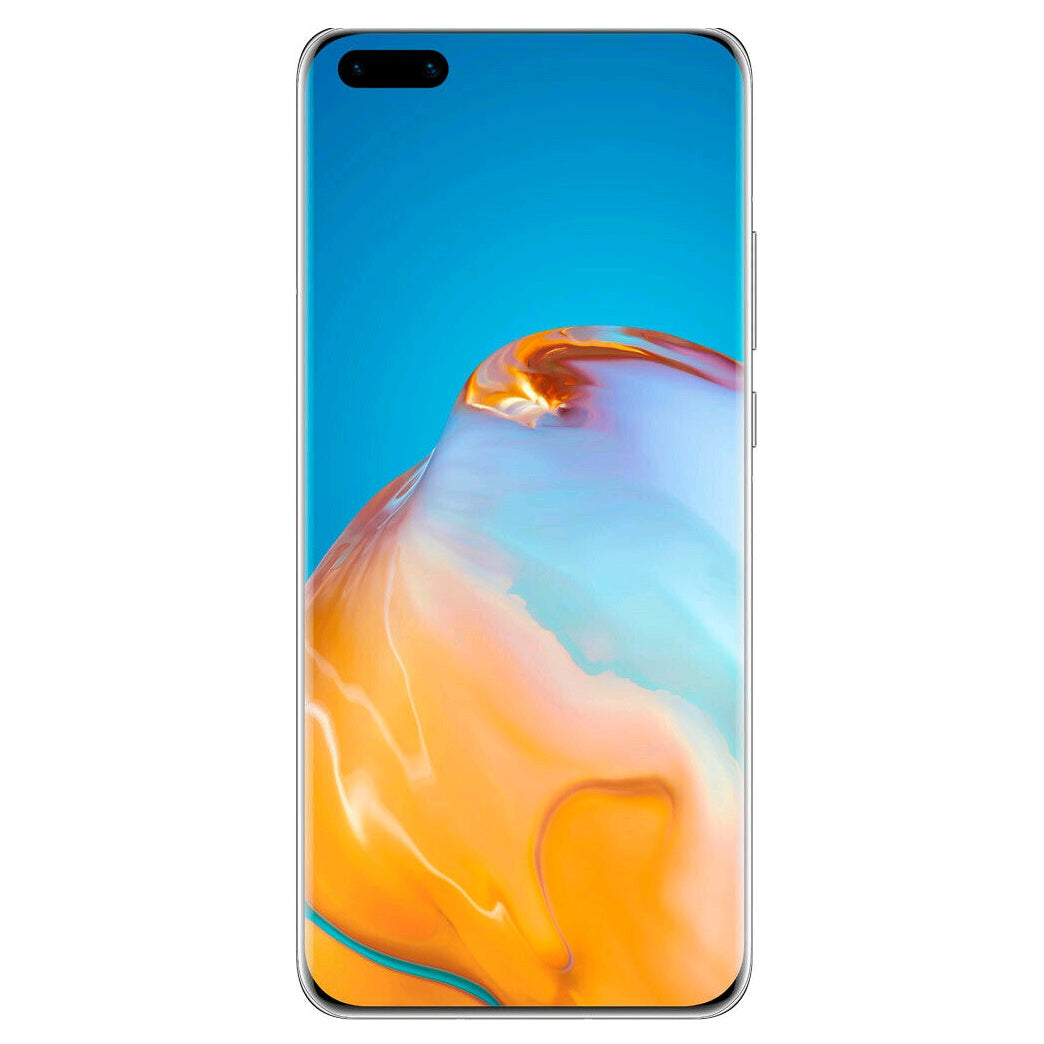 Huawei P40 Pro 5G (256GB. 8GB Ram, Dual Sim, Silver Frost, Special Import)-Smartphones (New)-Connected Devices