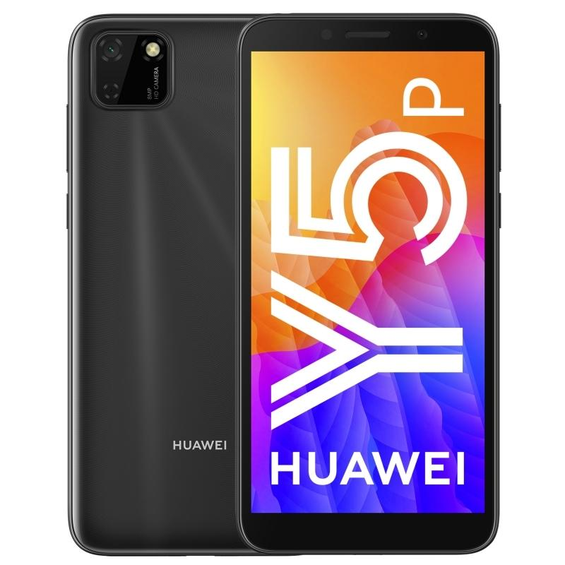 Huawei Y5P 2020 (32GB, Dual Sim, Black, Special Import)-Smartphones (New)-Connected Devices