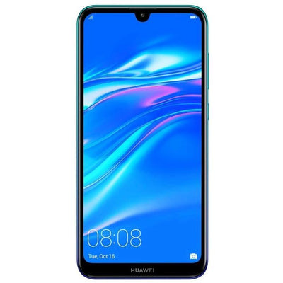 Huawei Y7 (2019, 32GB, Single Sim Blue, Local Stock)-Smartphones (New)-Connected Devices