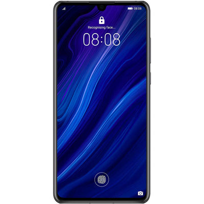 Huawei P30 (128GB, Dual Sim, Black, Special Import)-Smartphones (New)-Connected Devices