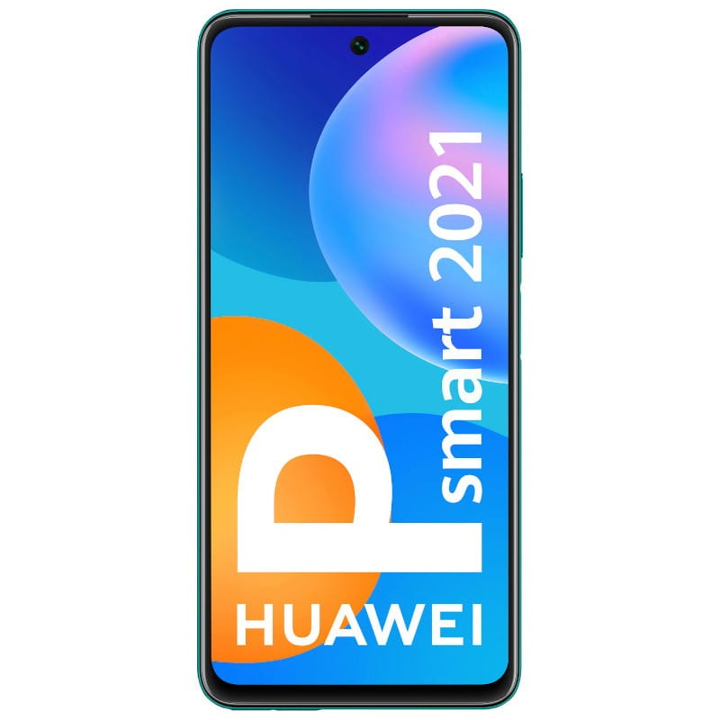 Huawei P Smart (2021, 128GB, Dual Sim, Green, Special Import)-Smartphones (New)-Connected Devices