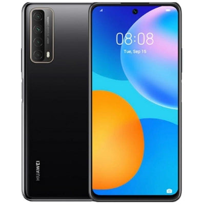 Huawei P Smart (2021, 128GB, Dual Sim, Black, Special Import)-Smartphones (New)-Connected Devices
