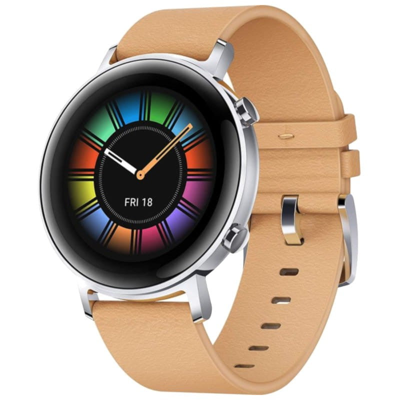 Huawei Watch GT 2 Classic (42mm, Brown Leather, Bluetooth, Special Import)