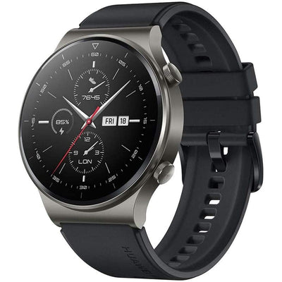 Huawei Watch GT 2 Pro Sport (Bluetooth, 46mm, Black, Special Import)-Wearables (New)-Connected Devices