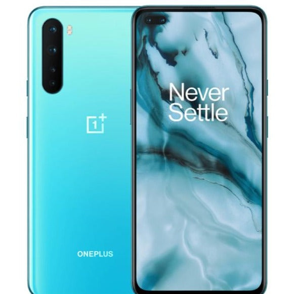 OnePlus Nord 5G (128GB, 8GB RAM, Dual Sim, Blue, Special Import)-Smartphones (New)-Connected Devices