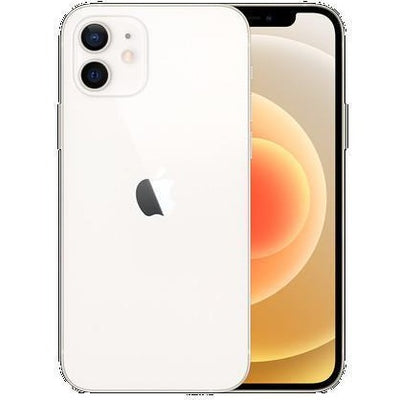 Apple iPhone 12 5G (128GB, Dual Sim, White, Special Import)-Smartphones (New)-Connected Devices