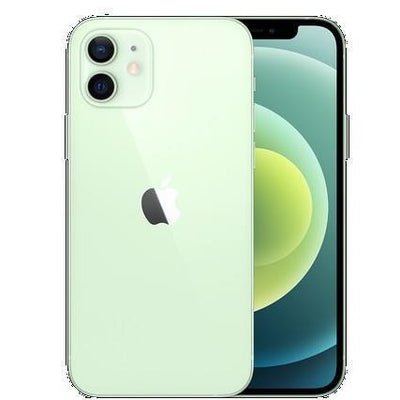 Apple iPhone 12 5G (64GB, Dual Sim, Green, Special Import)-Smartphones (New)-Connected Devices