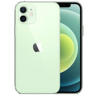 Apple iPhone 12 5G (128GB, Dual Sim, Green, Special Import)-Smartphones (New)-Connected Devices