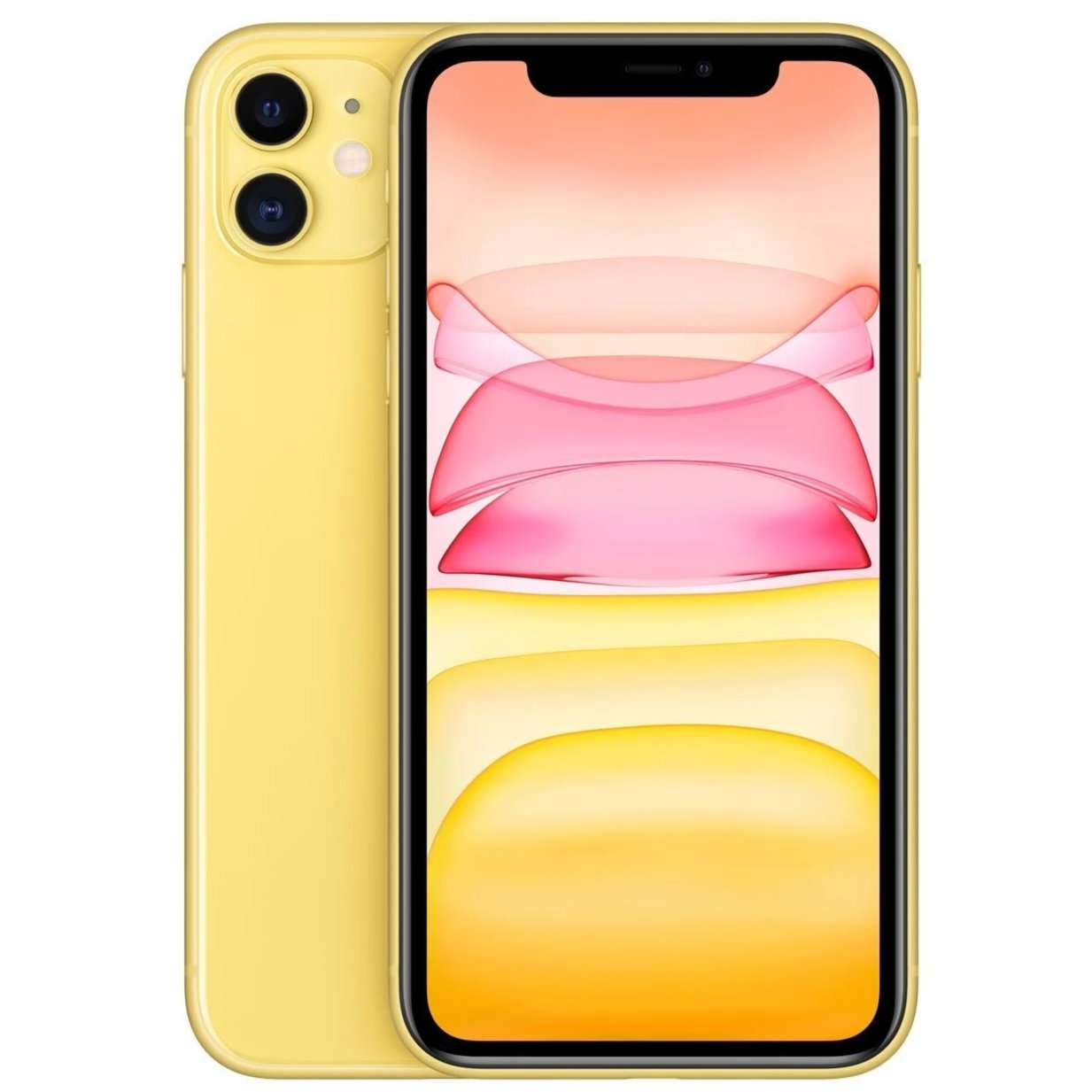 Apple iPhone 11 (64GB, Yellow, Local Stock)-Smartphones (New)-Connected Devices