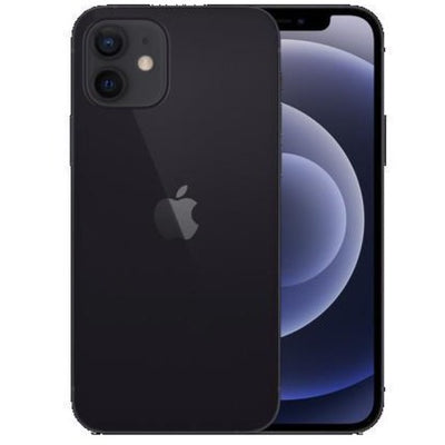 Apple iPhone 12 5G (64GB, Dual Sim, Black, Special Import)-Smartphones (New)-Connected Devices